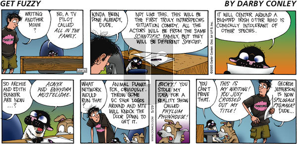Get Fuzzy on Sunday May 29, 2005 Comic Strip