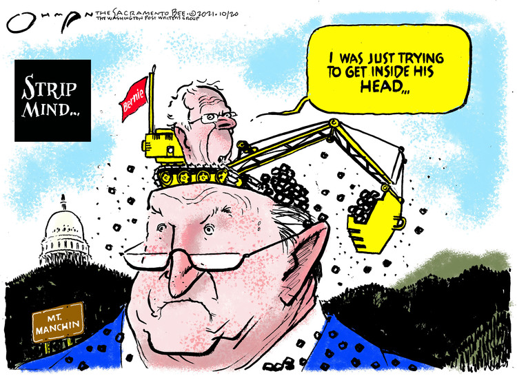 Jack Ohman Comic Strip for October 20, 2021
