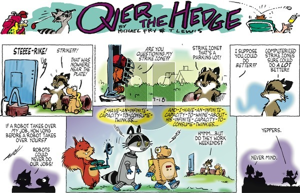 Over the Hedge on Sunday July 18, 2021 Comic Strip