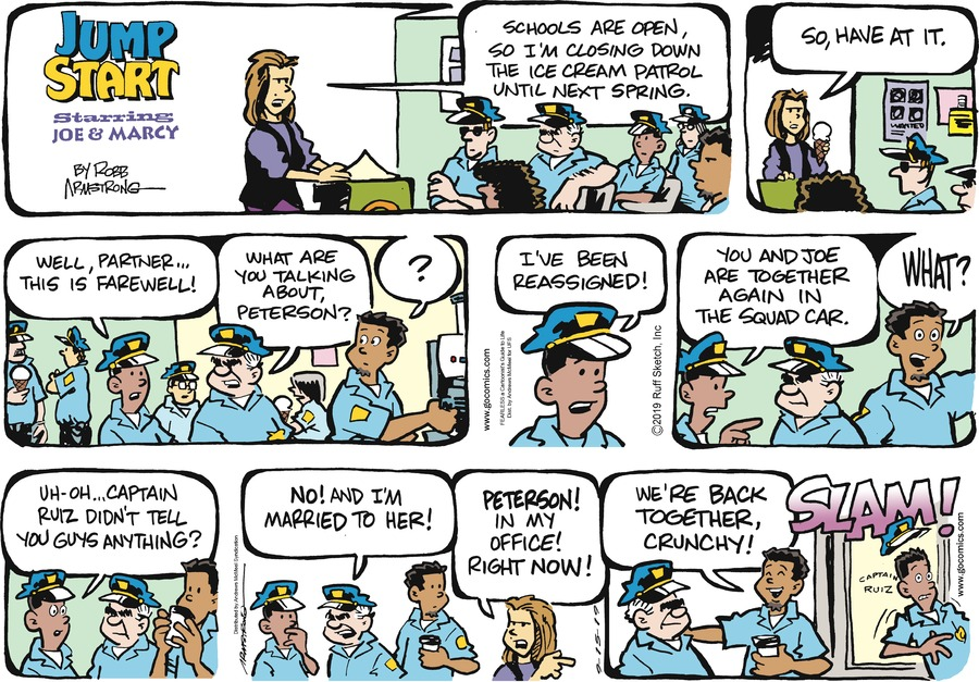 JumpStart by Robb Armstrong for September 15, 2019