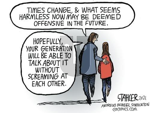 Jeff Stahler on Sunday March 7, 2021 Comic Strip