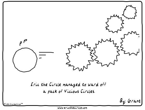 Eric the Circle Comic Strip for November 20, 2019