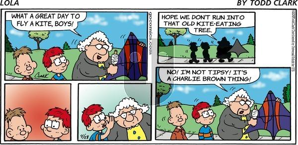 Lola - Sunday April 28, 2013 Comic Strip
