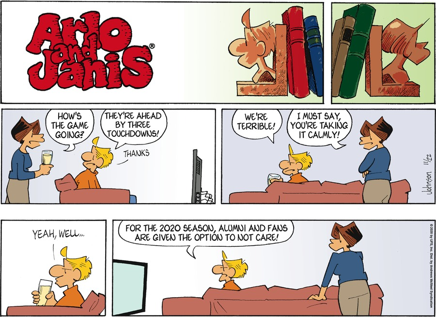 Arlo and Janis Comic Strip for November 22, 2020