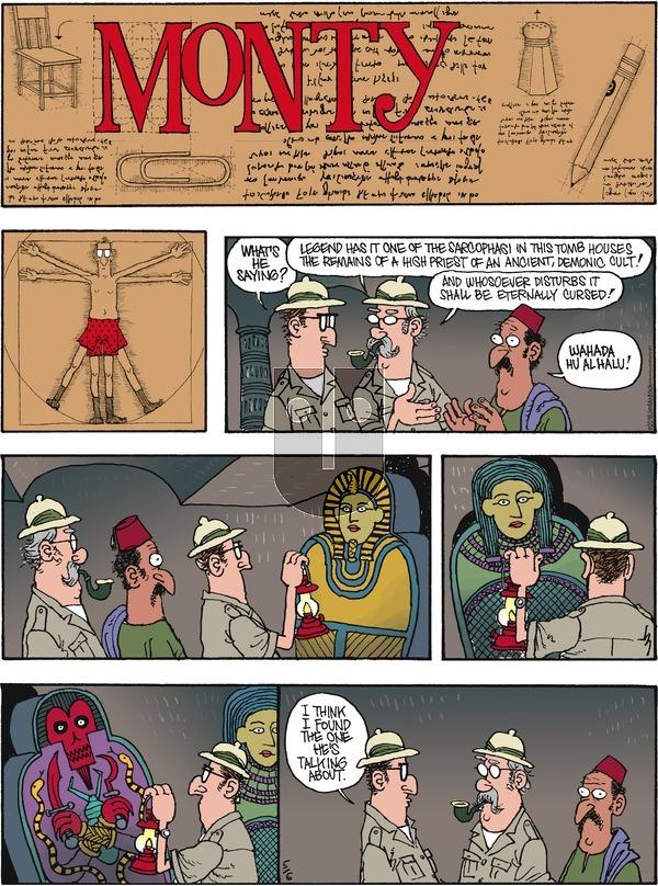 Monty on Sunday May 6, 2018 Comic Strip