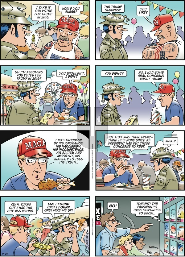 Doonesbury on Sunday September 29, 2019 Comic Strip