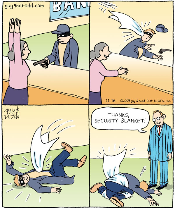 Brevity Comic Strip for November 16, 2009