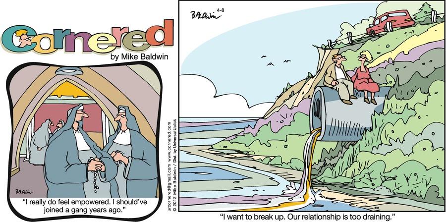 Cornered Comic Strip for April 08, 2012