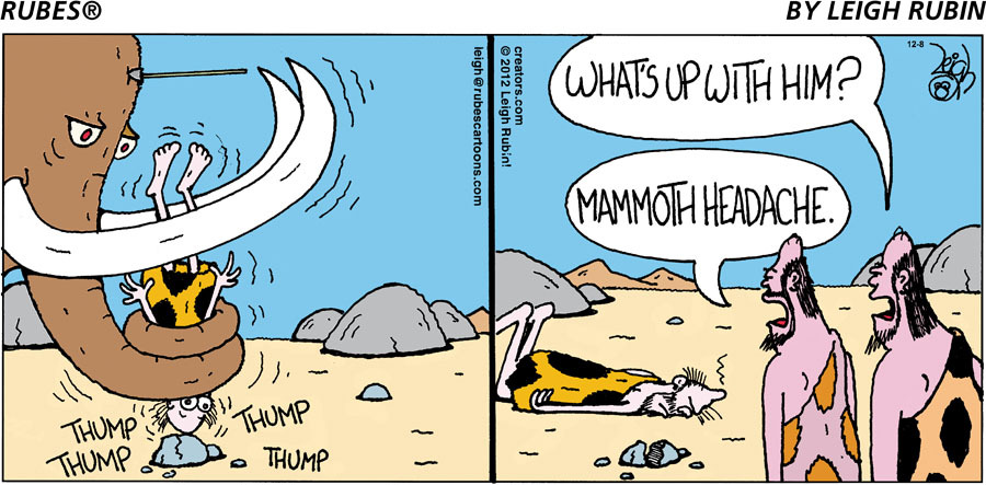 Rubes Comic Strip for December 08, 2019