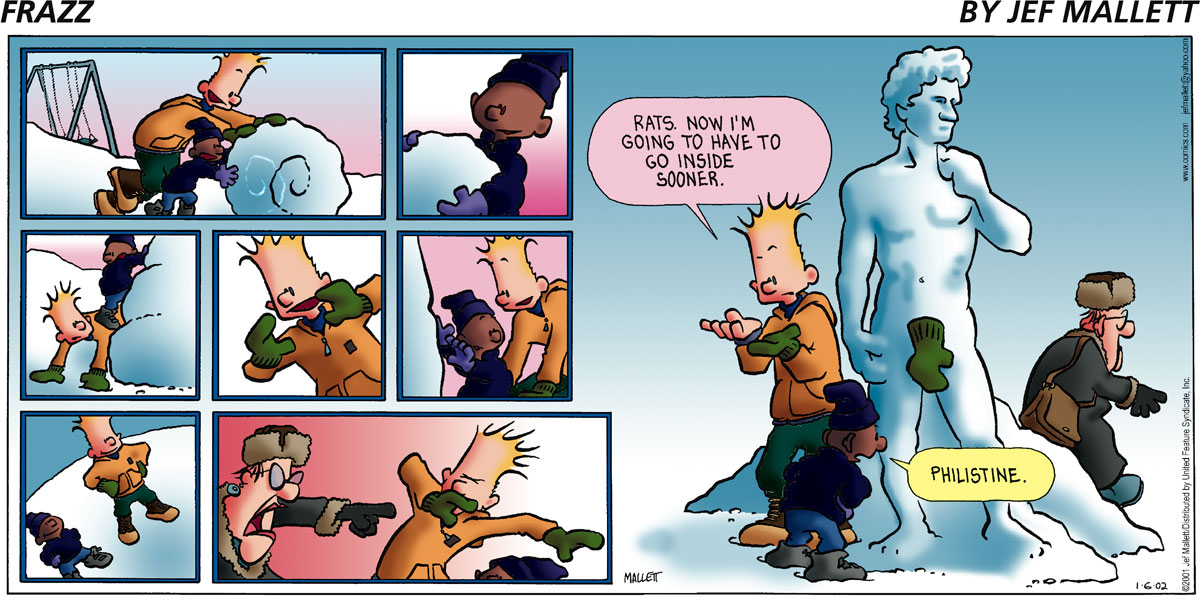 Frazz for Jan 6, 2002 Comic Strip