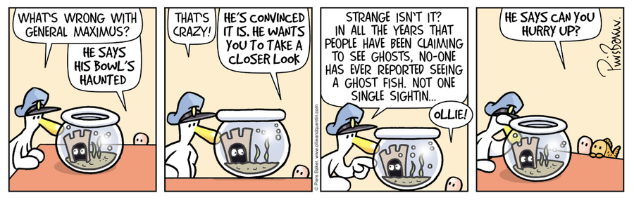 Ollie and Quentin for Mar 12, 2014 Comic Strip