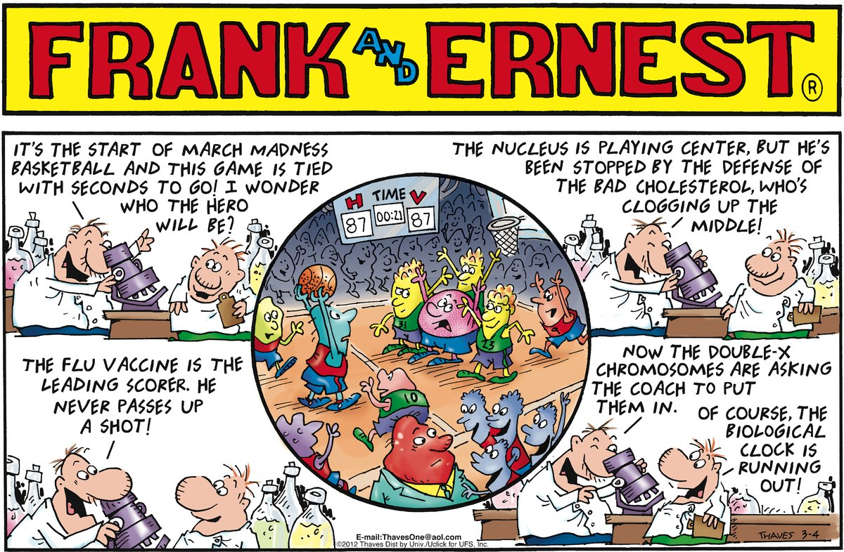Frank and Ernest Comic Strip for March 04, 2012