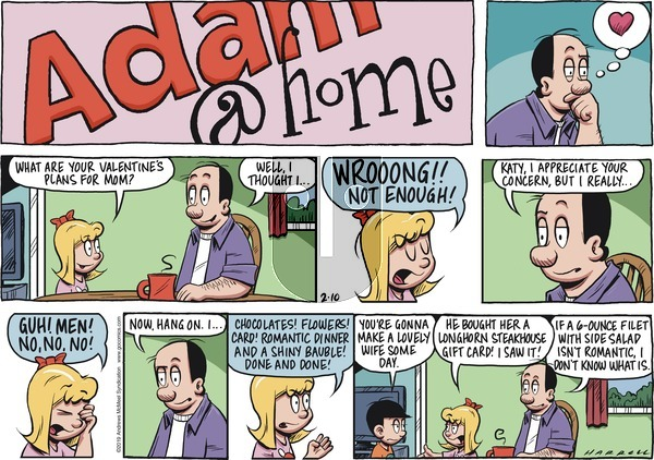 Adam@Home on Sunday February 10, 2019 Comic Strip