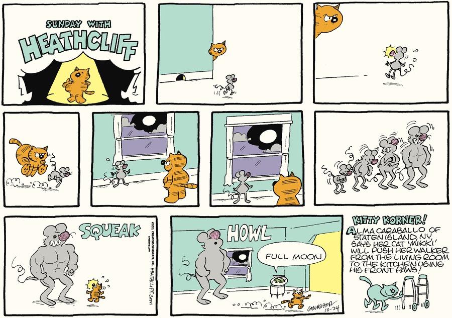 Heathcliff by George Gately on Sun, 24 Oct 2021