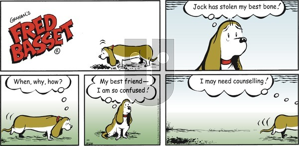 Fred Basset on Sunday August 8, 2021 Comic Strip