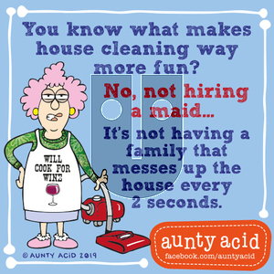 Aunty Acid on Tuesday September 10, 2019 Comic Strip