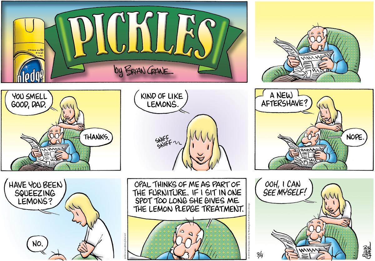 Pickles Comic Strip for September 04, 2011