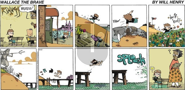 Wallace the Brave on Sunday September 22, 2019 Comic Strip