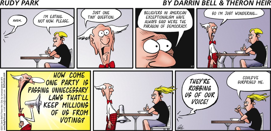 Rudy Park for Oct 7, 2012 Comic Strip