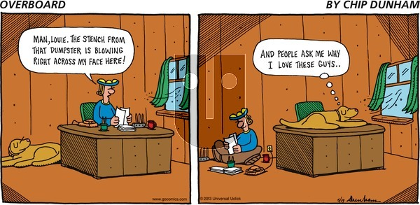 Overboard on Sunday May 19, 2013 Comic Strip