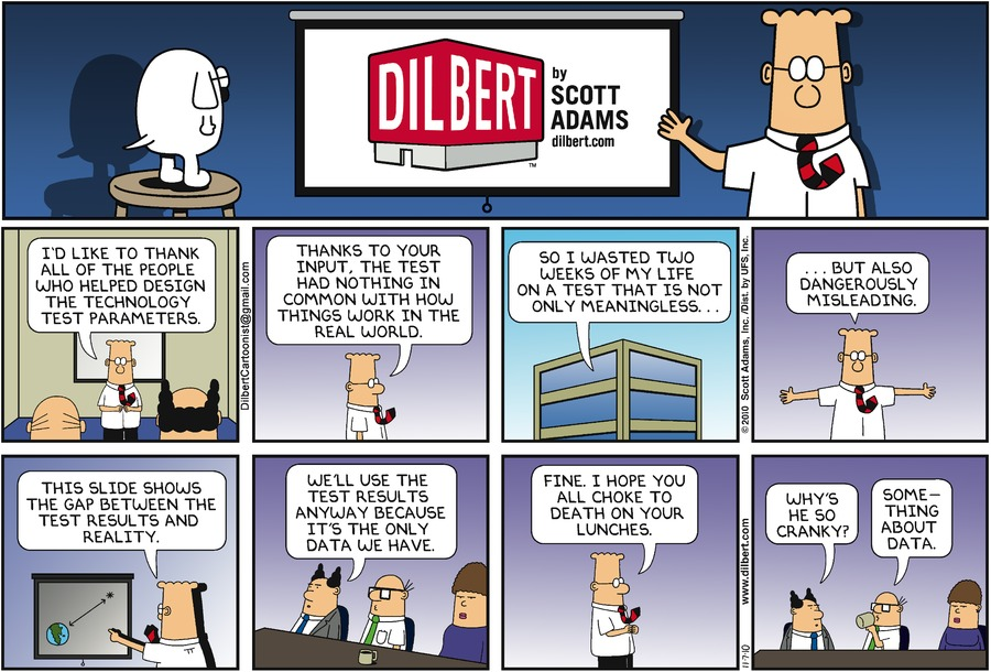 Dilbert by Scott Adams - credits: dilbert.com