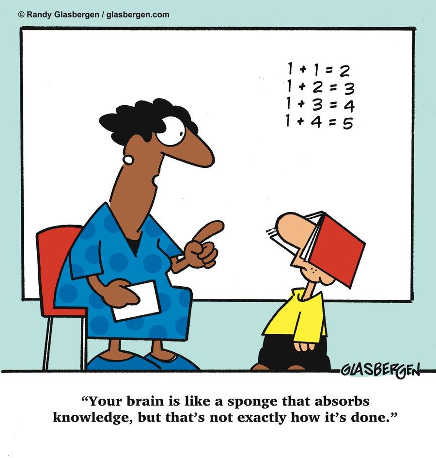Glasbergen Cartoons Comic Strip for January 18, 2015