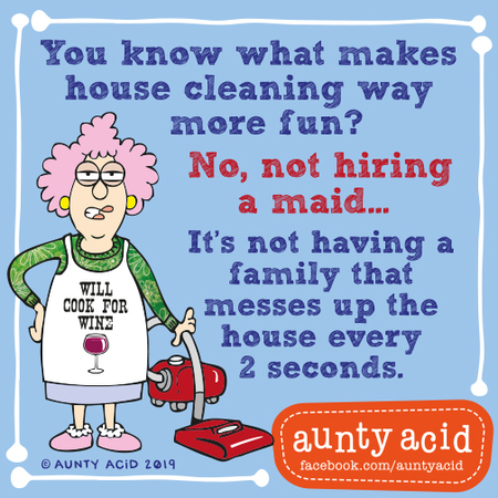 Aunty Acid by Ged Backland for September 10, 2019
