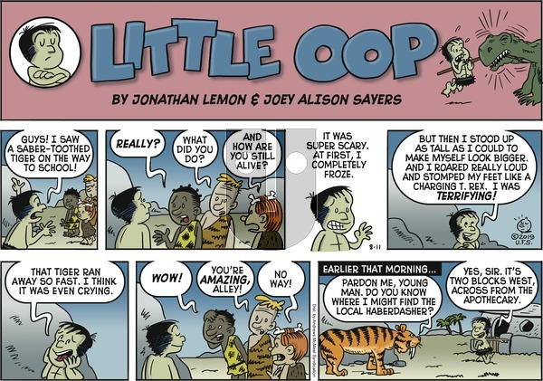 Alley Oop on Sunday August 11, 2019 Comic Strip