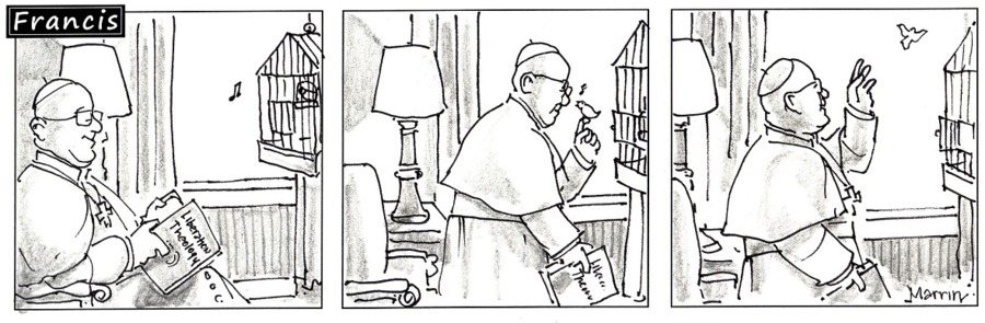 Francis Comic Strip for March 30, 2014