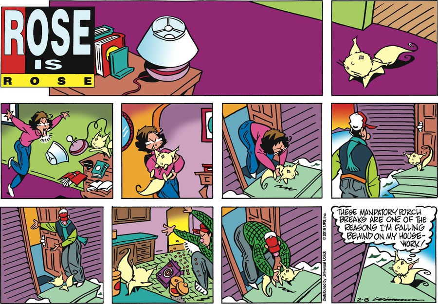 Rose is Rose Comic Strip for February 08, 2015