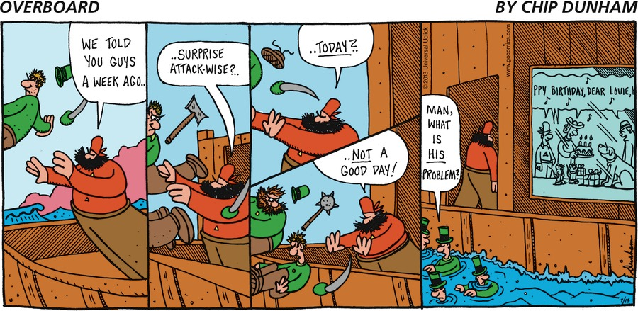 Overboard for Jul 14, 2013 Comic Strip