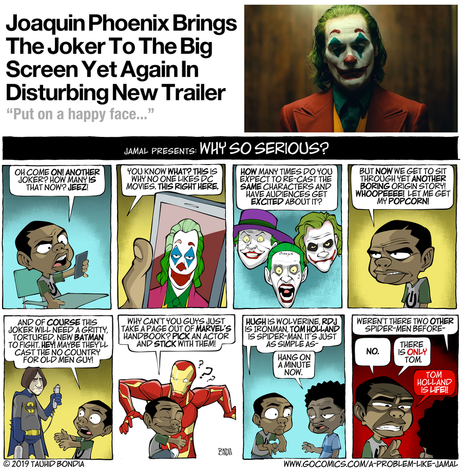 A Problem Like Jamal Comic Strip for April 16, 2019