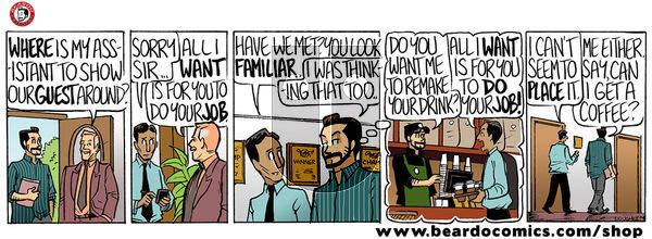 Beardo on Friday December 27, 2019 Comic Strip