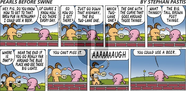 Pearls Before Swine on Sunday July 5, 2015 Comic Strip