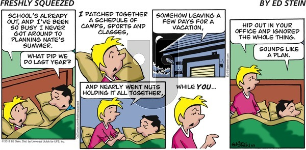 Freshly Squeezed - Sunday June 16, 2019 Comic Strip