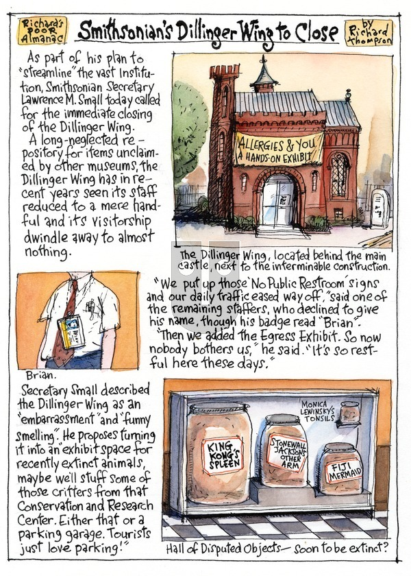 Richard's Poor Almanac on Sunday April 5, 2015 Comic Strip