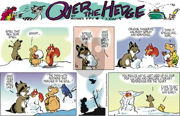 Over the Hedge on Sunday January 10, 2021 Comic Strip