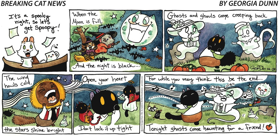 Breaking Cat News Comic Strip for October 27, 2019