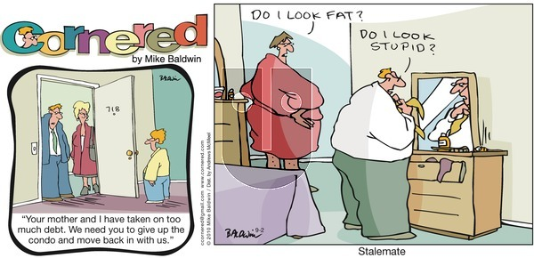 Cornered on Sunday September 2, 2018 Comic Strip