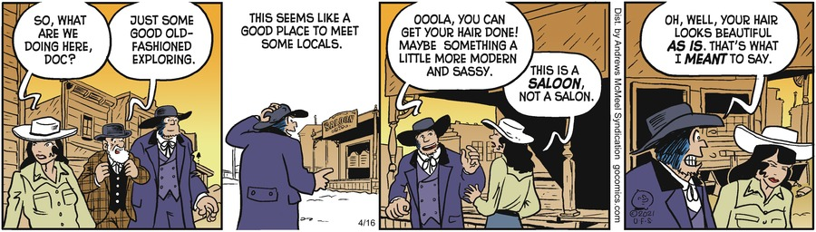 Alley Oop Comic Strip for April 16, 2021