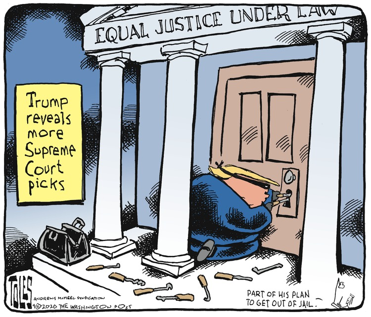 Tom Toles Comic Strip for September 13, 2020