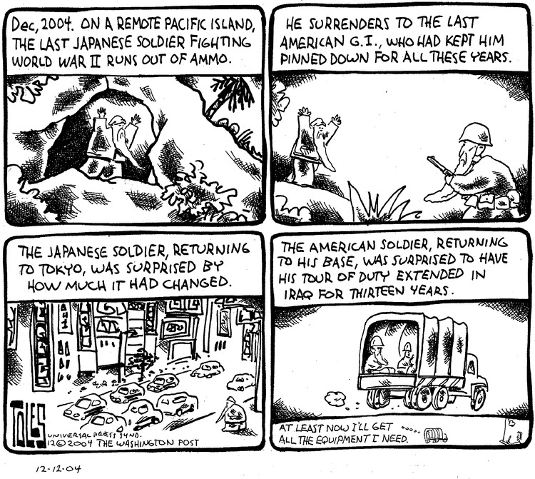 Tom Toles for Dec 12, 2004 Comic Strip