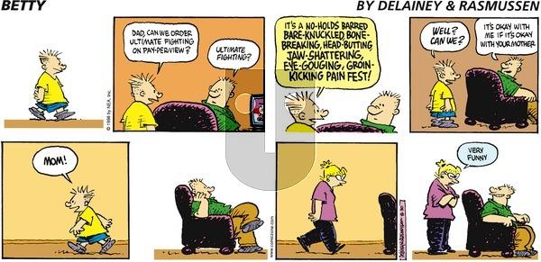 Betty on Sunday August 30, 1998 Comic Strip