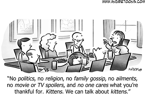 Andertoons Comic Strip for November 19, 2019