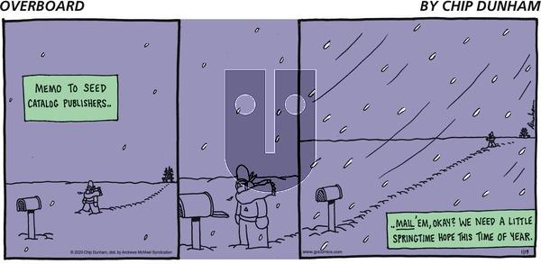 Overboard - Sunday January 19, 2020 Comic Strip