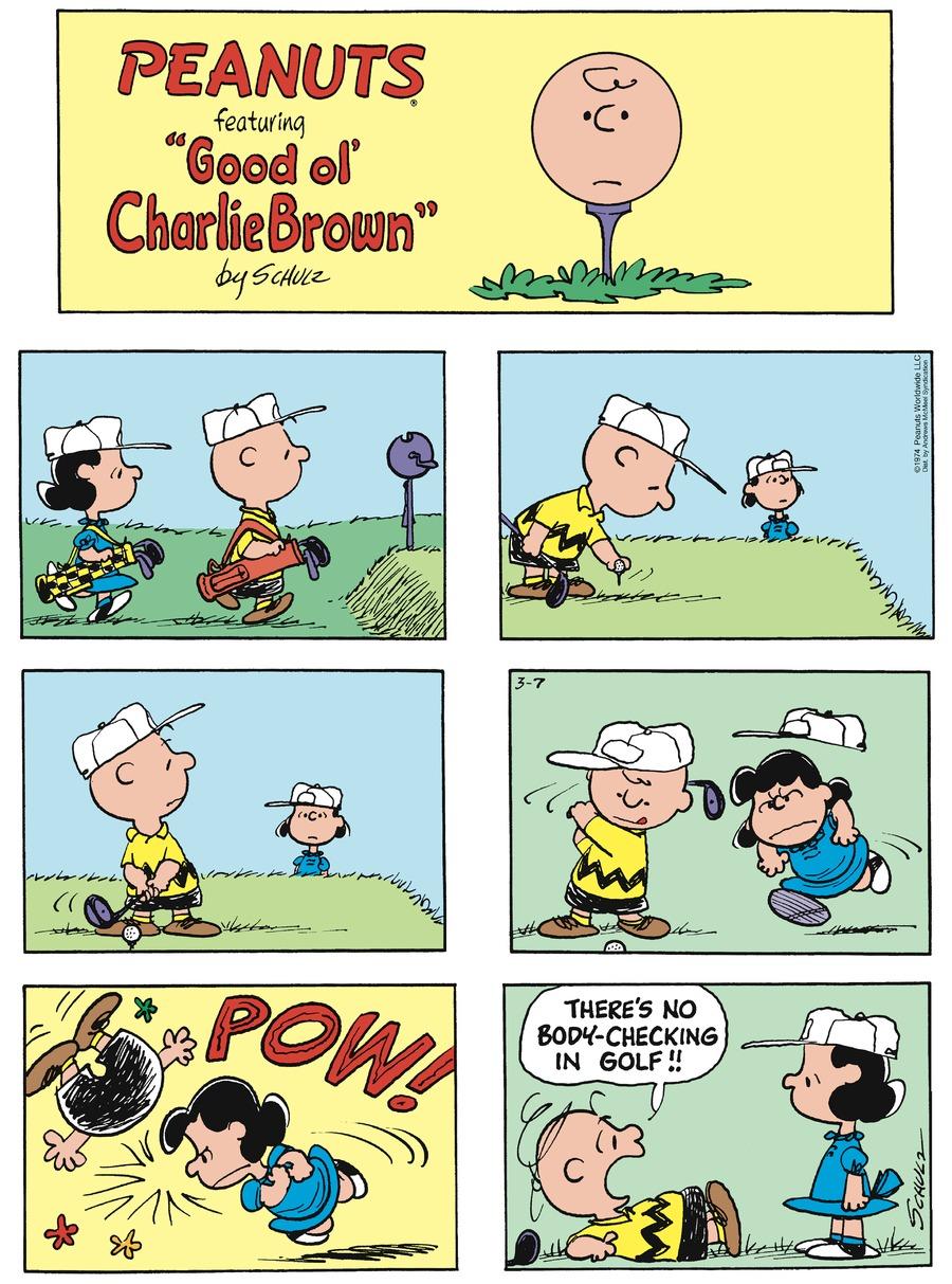 Peanuts Comic Strip for March 07, 2021