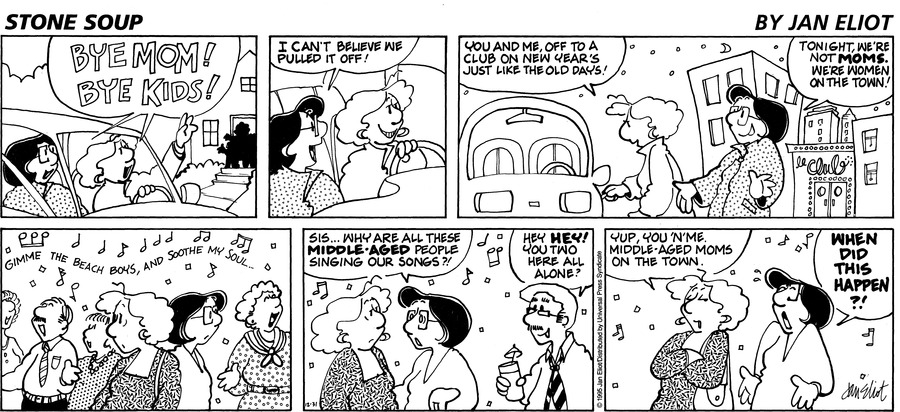 Stone Soup for Dec 31, 1995 Comic Strip