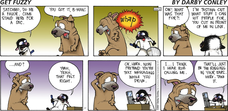 Get Fuzzy Comic Strip for June 07, 2020