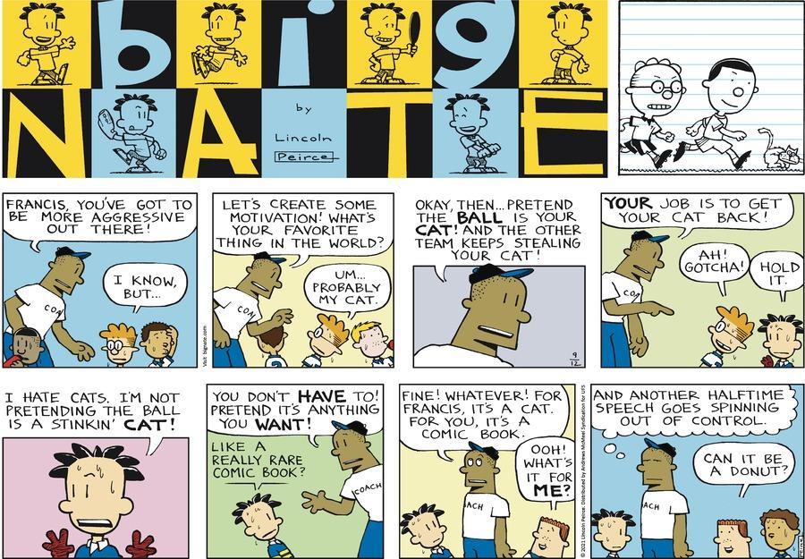 Big Nate Comic Strip for September 12, 2021