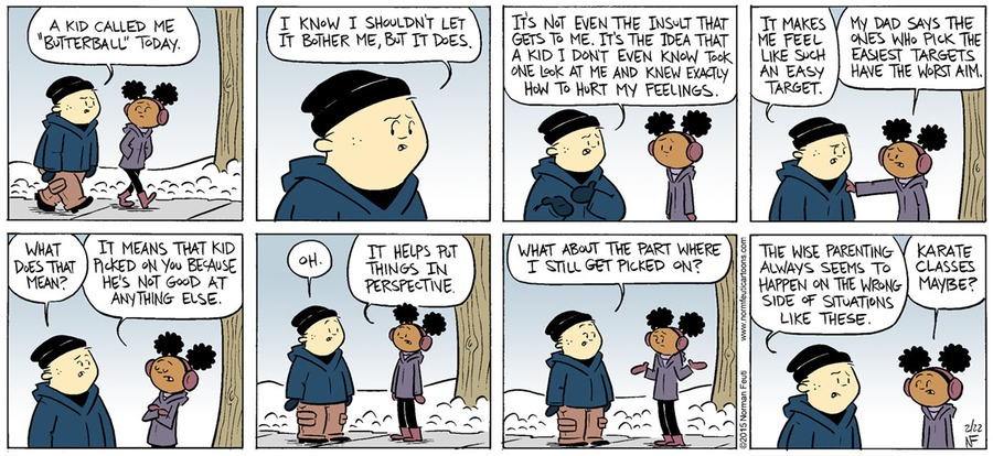 Gil Comic Strip for February 24, 2019